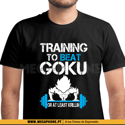 Training Beat Goku Shirt