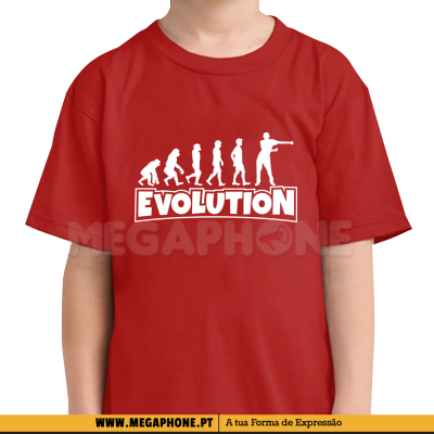 Evolution Fortnite Shirt