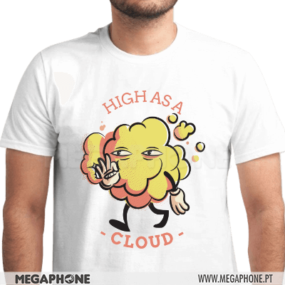 High as a cloud shirt