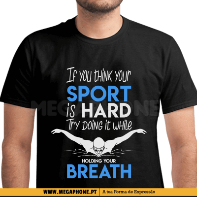 Sport is hard breath shirt