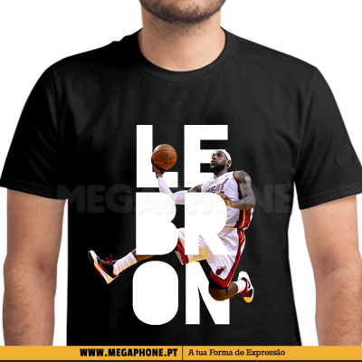 LeBron James NBA Basket Shirt