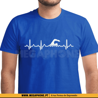 Heartbeat Swim Shirt