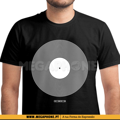 Vinyl Techno Music Shirt
