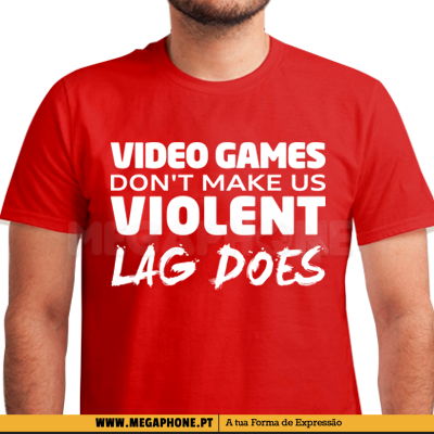 Video Games Violent Lag