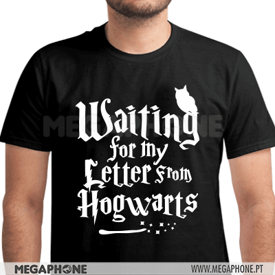 Waiting letter from Hogwarts Shirt
