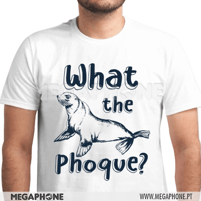What the phoque shirt