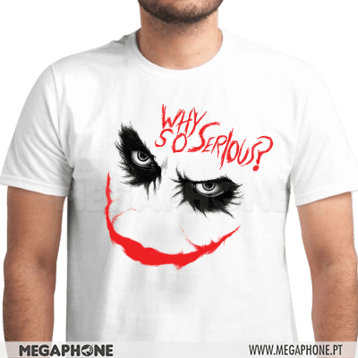Why so serious? Joker Shirt