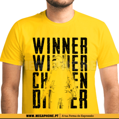 Winner Chicken PUBG Shirt