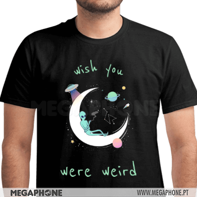 Wish you were weird shirt