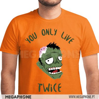 You only live twice shirt