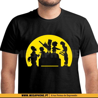 Simpsons Zombies Shirt