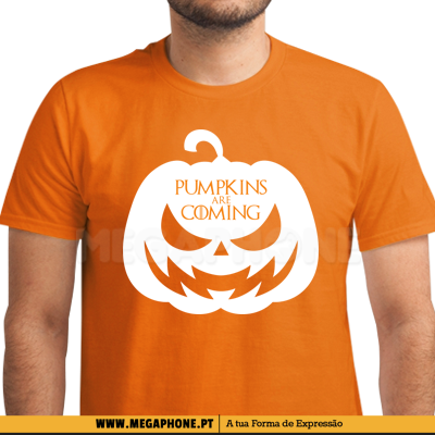 Pumpkins are coming shirt