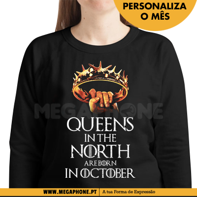 Queens in the north shirt