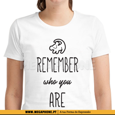 Remeber who you are shirt