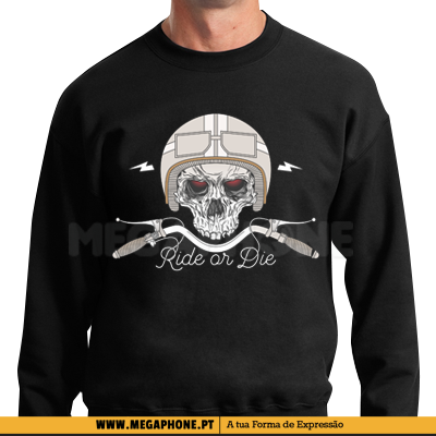 Ride or Die Skull shirt