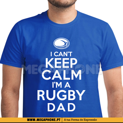 Keep Calm Rugby Dad Shirt