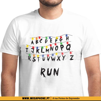 Run Stranger Things shirt