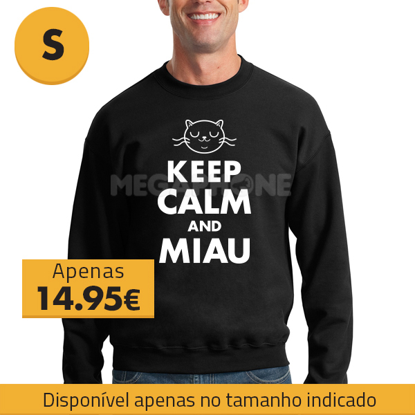 Saldo Keep Calm Miau