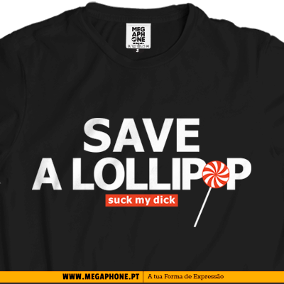 Save a lollipop t-shirt