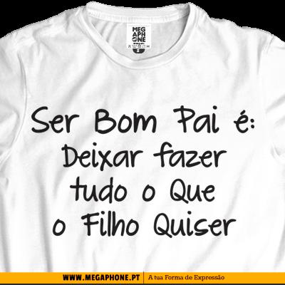 e1a2a872ee3cfe Bom Pai Filho T-shirt