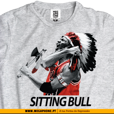 Sitting Bulls tshirt chicago