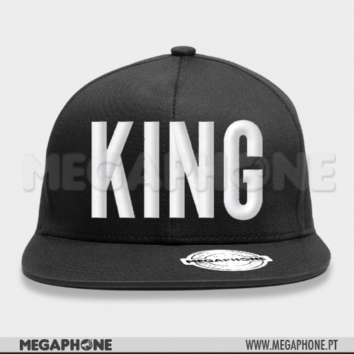 Cap KING White