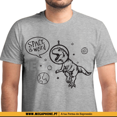 Space is weird shirt