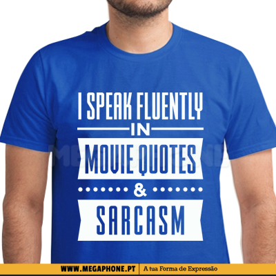 I speak fluently movie quotes shirt