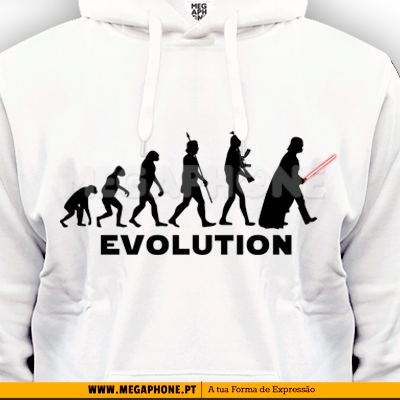 Evolution Star Wars shirt