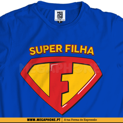 Super Filha shirt superman