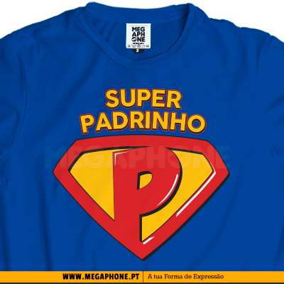Super padrinho shirt