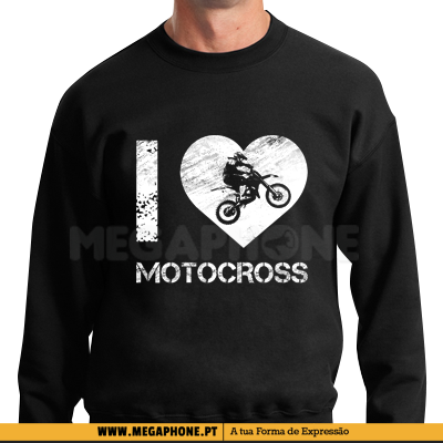 I love motocross shirt