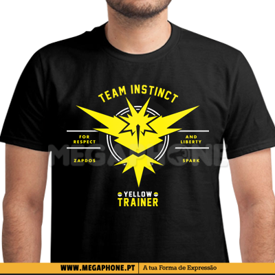Trainer Instinct shirt pokemon go