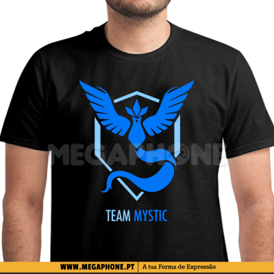 Team Mystic pokemongo shirt