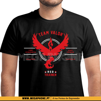 Trainer Valor shirt Pokemon go