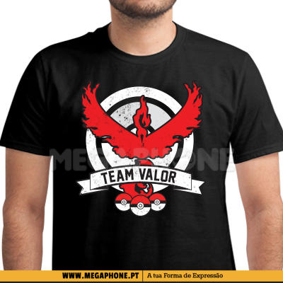 T valor equipa shirt