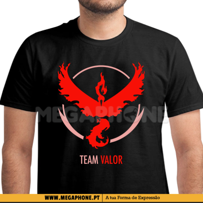 Team valor pokemongo shirt