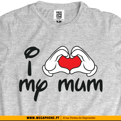 I love mum t-shirt
