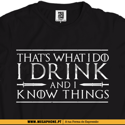 That's what i do shirt