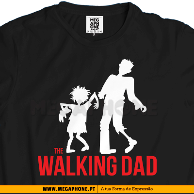 The Walking dad shirt dia do pai