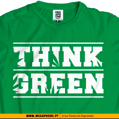 Think Green tshirt