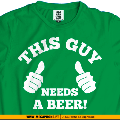 This guy beer T-shirt