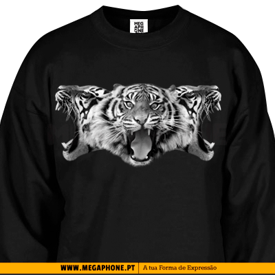 Tigers bw shirt