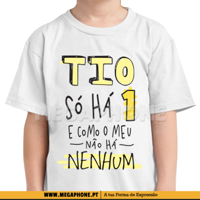 Tio so ha um shirt