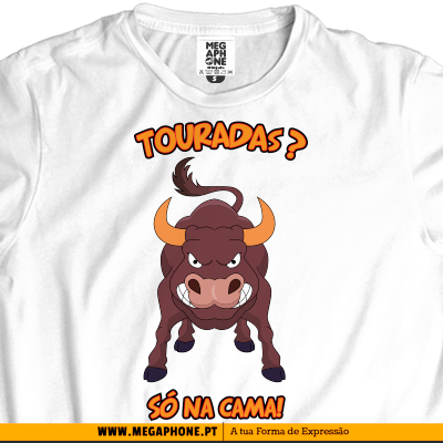 Touradas cama t-shirt