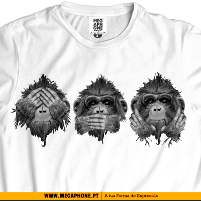 3 Monkeys wise tshirt