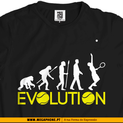 Evolution tenis t-shirt