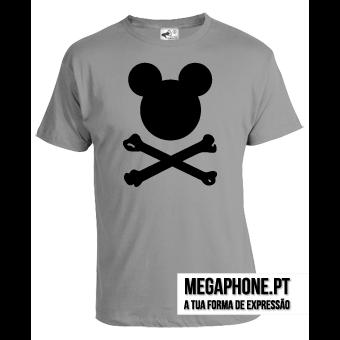 Mickey bones t-shirt Megaphone Loja Vestuário T-Shirts Personalizadas VSKI  Promoções Descontos Namorados 7a8bed45936