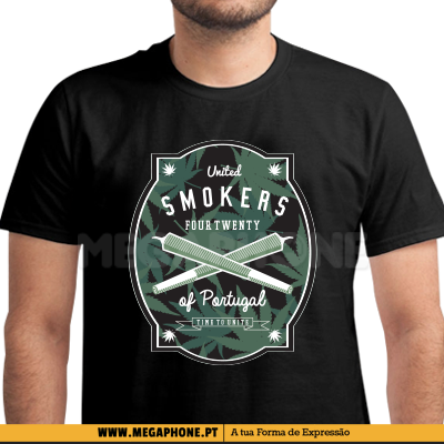 United smokers of Portugal shirt