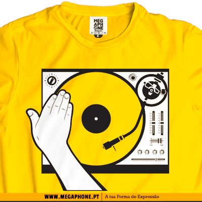 Dj Scratch musica shirt